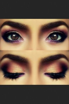Formal makeup, with whatever accent color, this is beautiful!