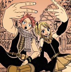 NaLu forever .. #FairyTail