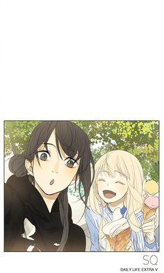 Manga Tamen De Gushi - Chapter 129 - Page 5 Girl Couple, Couple Art, Couple Drawings, Art Drawings, Manhwa, Avatar, Tan Jiu, Fanart, Bubbline