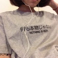 shirt grey indie hipster japanese chinese t-shirt grey t-shirt women korean style sweater japanese fashion grey sweater asian korean fashion japan tattoo Beauty And Fashion, Trend Fashion, Look Fashion, Korean Fashion, Fashion Outfits, Japanese Fashion, Japanese Style, Fashion Ideas, Women's Fashion