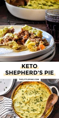 *NEW* Low Carb Shepherd�s Pie is your chilly night dinnertime champion! #lowcarbshepherdspie #ketoshepherdspie #shepherdspie #ketothanksgiving #thanksgiving #lowcarbthanksgiving Low Carb Pie Recipe, Low Carb Dinner Recipes, Delicious Dinner Recipes, Good Healthy Recipes, Real Food Recipes, Yummy Recipes, Dessert Recipes, Yummy Food, Keto Shepherd's Pie