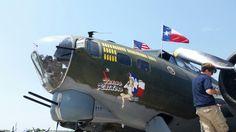 B-17  Port side front fuselage