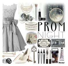 """""""The Perfect Prom Night"""" by michal100-15-4 ❤ liked on Polyvore featuring CASSETTE, Accessorize, L'Occitane, FREDS at Barneys New York, Eyeko, Universal, Manic Panic NYC, rms beauty, Christian Dior and Gianvito Rossi"""