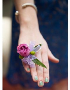rose ring corsage