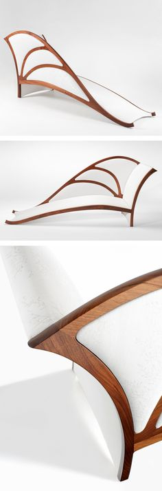 "Award Winning Design Handmade Bespoke ""Ulysses"" Chaise Lounge - Furniture Design - Product Design - Etsy - Australian Design"