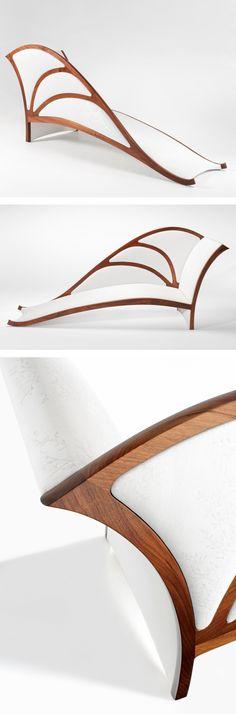 """Award Winning Design Handmade Bespoke """"Ulysses"""" Chaise Lounge - Furniture Design - Product Design - Etsy - Australian Design"""
