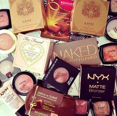 !! i love makeup shopping my favorite brands of makeup