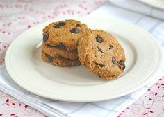 Butterscotch Chocolate Chip Cookies (#glutenfree, #eggfree, #dairyfree, refined #sugarfree) @rickiheller