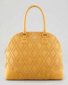 Tory Burch Robinson Patchwork Dome Tote Bag