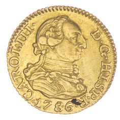1/2 Escudo 1786