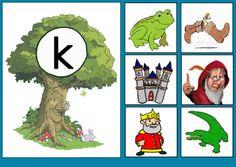 Letterkaart K