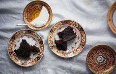 Richly spiced gingerbread with the texture of a moist, dense devil's food cake, this recipe only gets better if you make it ahead.