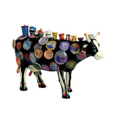 Cowparade - The Moo Potter (XL), Meredith McCord, 38x24 | ACHICA