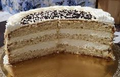 Raffaello torta gyors és finom változat! - Egyszerű Gyors Receptek Vanilla Cake, Tiramisu, Tart, Sweets, Ethnic Recipes, Food, Cakes, Tumblr Backgrounds, Raffaello