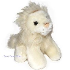 White Lion Soft Toy   Plush Lion   Lioness Stuffed Toy