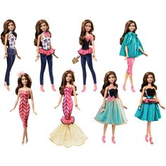 2015 - Barbie Fashion Mix 'n Match Teresa Doll $21.99