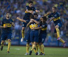 @Boca La alegria de todo el equipo xeneize por la victoria #9ine