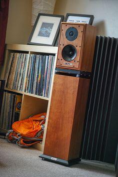 Discrete Speaker Options #vinyl #recordcollection #harbeth