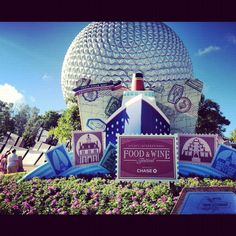 Epcot's International Food and Wine Festival would be a must do!!