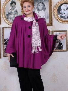 Верхняя одежда для полных женщин и девушек, фото красивой верхней одежды для полных дам
