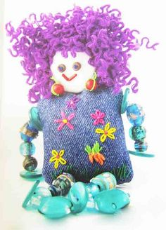 Workbox Magazine - stitch craft ideas for children, by Colouricious, via Flickr