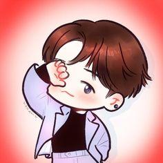 Baekhyun <credits to owner> Fanart Kpop, Baekhyun Fanart, Exo Xiumin, Chanbaek Fanart, Exo Cartoon, Cartoon Art, Exo Stickers, Exo Anime, Exo Fan Art