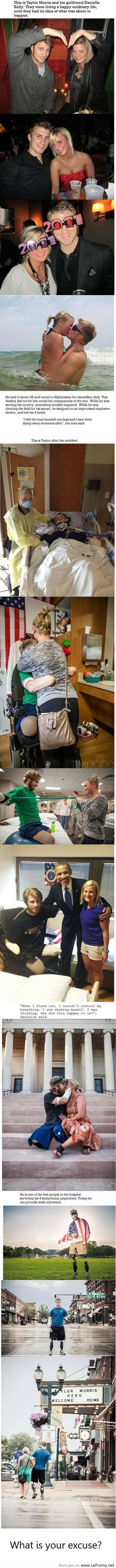 awesome What is your excuse?