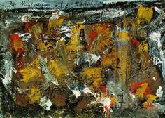 Anselm Kiefer, Die Meistersinger, 1981. Oil, emulsion, and sand on photograph, mounted on canvas.