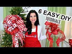 Christmas Tree Bows, Dollar Tree Christmas, Christmas Tree Toppers, Simple Christmas, Christmas Crafts, Xmas, White Christmas, Christmas Ideas, Christmas Decorations