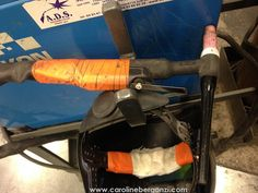 Art studio glimpse: #Welding thru #CarolineBergonzi eyes…   Ref. Photo: I like the manual TIG better. You?