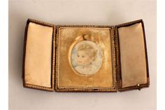 Victorian Oval Miniature Watercolour of a by OnlineAntiquesuk