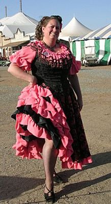 Truly Victorian :: Belle Epoche Patterns - 1890's :: Can-Can Skirt