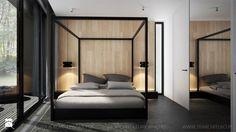 MINIMALISTYCZNE WNĘTRZE DOMU - Sypialnia, styl minimalistyczny - zdjęcie od TK Architekci