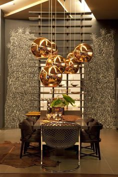 South Shore Decorating Blog: Thursday Eye Candy - Modern Dining Room