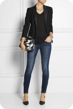Buenos dias!!! Hoy vengo a enseñarte tres outfits diferentes pero que tienen como protagonista la misma prenda, los vaqueros o jeans ...