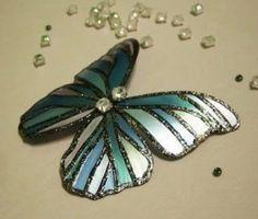 Trasformare le bottiglie di plastica in farfalle decorative - DimmiCosaCerchi.it