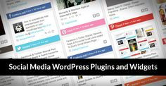 In this post we will show you 30 powerful premium Social Media WordPress plugins and widgets. These collection are the best of best Social media WP plugins on the internet and CodeCanyon marketplace. Easy to install, unlimited click configuration, awesome tabs and popup designs, easy way to get more shares, more traffic, more fans and popularity with our amazing collections.