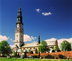 Jasna Góra, Poland...  Home of the Black Madonna of Częstochowa.