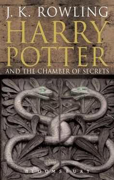 Harry Potter and the chamber of secrets by J. Rowling - Book two in the Harry Potter series Rowling Harry Potter, Slytherin Harry Potter, Harry Potter Facts, Harry Potter Movies, Fantasy Book Covers, Fantasy Books, Harry Potter Book Covers, Hp Book, Chamber Of Secrets