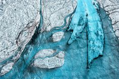 Breathtaking Aerial Views of Melting Ice Sheet in Greenland – Fubiz Media