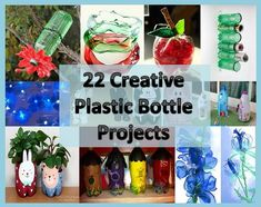 Craft, Home and Garden Ideas - 22 Creative Plastic Bottle Projects