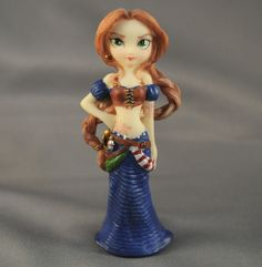 JASMINE BECKET GRIFFITH Strangeling Fairies Fig Pirate 8207 CAPTAIN MOLLY MORGAN