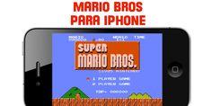 Seguro que eres de los que de pequeño jugaba a Super Mario Bros en una consola Nintendo. Es un juego muy clásico que a todo el mundo le atrae. Ahora que tienes un iPhone, lo más probable es que estés esperando ansioso a disponer del juego para disfrutar de los ratos libres recordando un juego de tu niñez o adolescencia.  http://iphone-6.es/category/juegos-para-iphone/ #iphonejuegos