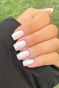 2020 some kinds of t Squoval Acrylic Nails, Rounded Acrylic Nails, Short Square Acrylic Nails, Natural Acrylic Nails, Short Square Nails, Simple Acrylic Nails, Summer Acrylic Nails, Best Acrylic Nails, Simple Nails
