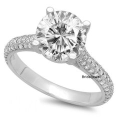 3-15Ct-Brilliant-Diamond-Pretty-Solitaire-Engagement-Ring-925-Sterling-Silver