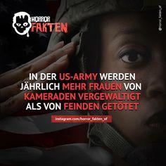 Da überlegt man sich es als Frau doch glatt 2 mal ob man zur Army geht..Traurig…