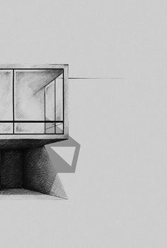 A collection of architecture sketches and drawings (mostly and hopefully by hand) focused firstly on. Pencil Sketches Architecture, Shadow Architecture, Architecture Design, Abstract Pencil Drawings, Art Drawings Sketches, Charcoal House, Different Drawing Styles, Charcoal Sketch, House Sketch