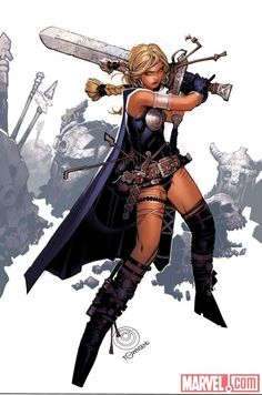 Secret Avengers 6 Women//Chris Bachalo/B/ Comic Art Community GALLERY OF COMIC ART