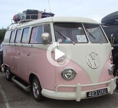 Pretty in pink Days like today have me longing for a pink camper. I'd pack light; scoop up the dog; turn on the Jack Johnson playlist–and head north. Happier times in cooler climes. One of these Pink … Beetles Volkswagen, Volkswagen Bus, Vw Camper, Campers, Hipster Grunge, Indie Hipster, Vintage Barbie, Vintage Cars, Air Jordan