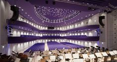 The concert hall of the The Congress Heart in Zlín, Czech Republic is among the only a few oval formed concert halls within the Altiverb library of acoustics. University Center, Concert Hall, Color Stories, Choir, Czech Republic, Interior Architecture, Interior Design, Spectrum, Color Pop